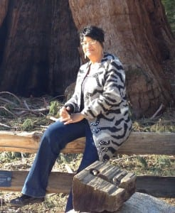 Mom at the Sequoia