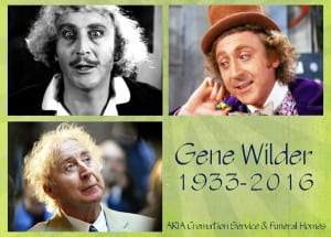 Gene Wilder ARIA Cremation Service Dallas